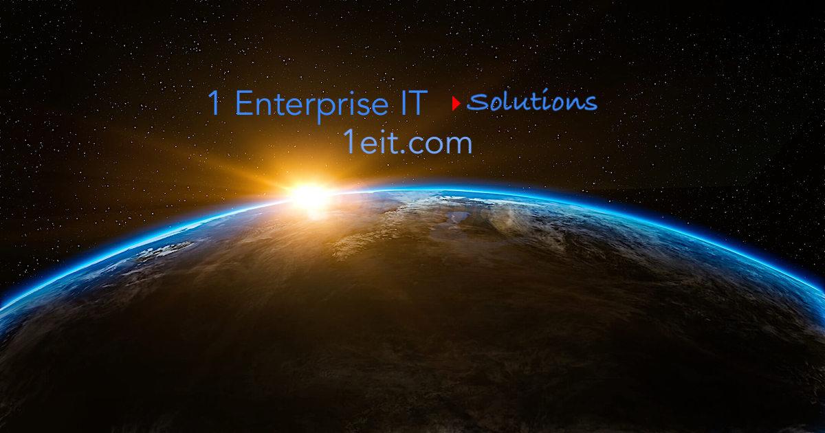 1 Enterprise IT